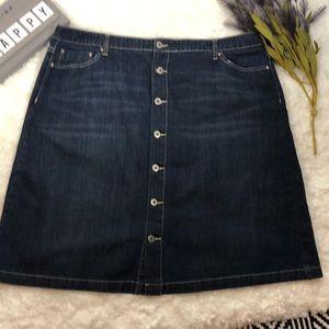 Tommy Hilfiger women's jean skirt size 20